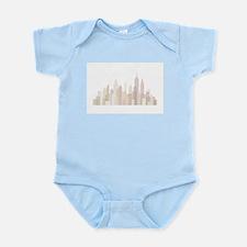 Modern New York Skyline Body Suit