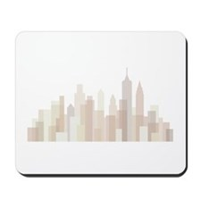 Modern New York Skyline Mousepad