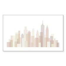 Modern New York Skyline Decal