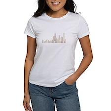 Modern Chicago Skyline T-Shirt