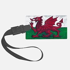 Wales Flag Luggage Tag