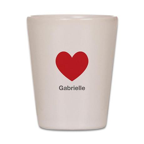 Gabrielle Big Heart Shot Glass