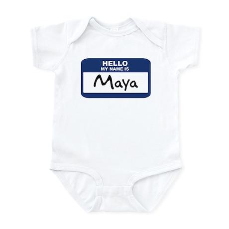 Hello: Maya Infant Bodysuit
