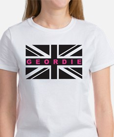 Geordie flag (Pink) T-Shirt
