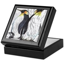 Emperor Penguins Keepsake Box