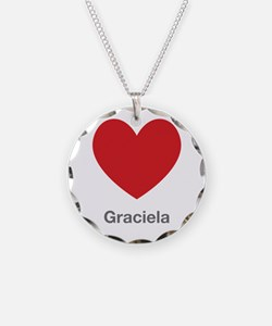 Graciela Big Heart Necklace