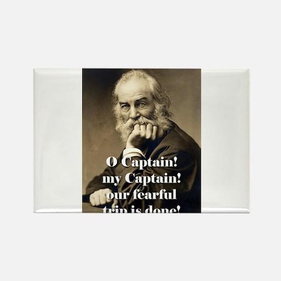 O Captain My Captain - Whitman Magnets