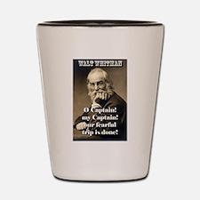 O Captain My Captain - Whitman Shot Glass