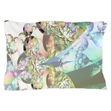 Wings of Angels - Amethyst Crystals Pillow Case