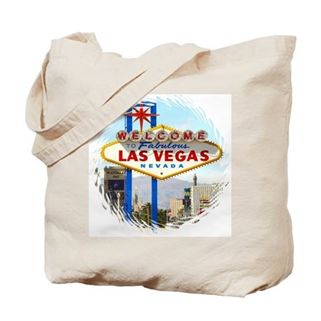 Las Vegas Day Sign Tote Bag