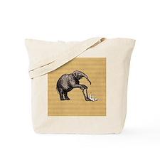Vintage circus elephant Tote Bag