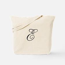 Champagne Monogram E Tote Bag