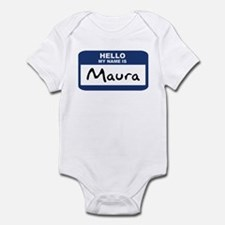 Hello: Maura Infant Bodysuit
