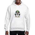 Poker Penguin Hooded Sweatshirt