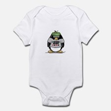 Poker Penguin Infant Bodysuit