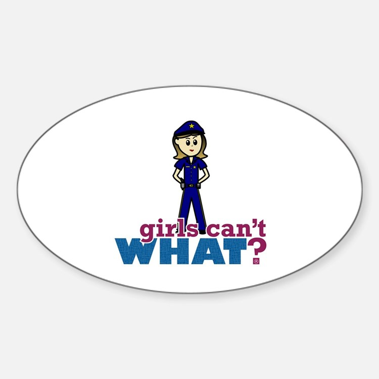 Police Woman Decal