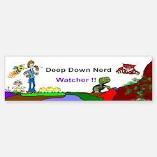 Nerd_Watcher Bumper Bumper Sticker