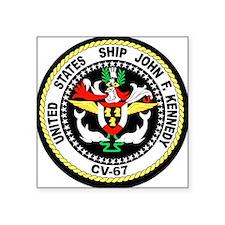 USS John F. Kennedy Rectangle Sticker