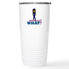 Woman Police Officer Travel Mug