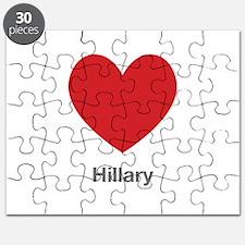 Hillary Big Heart Puzzle