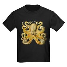 Vintage octopus cephalopod scientific drawing T-Sh