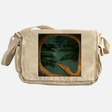 SnakesYearDetail Messenger Bag
