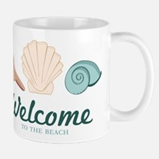 Welcome Seashells Mug