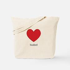 Isabel Big Heart Tote Bag