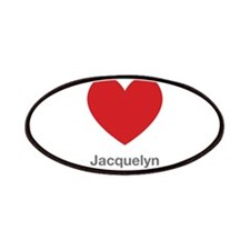 Jacquelyn Big Heart Patches