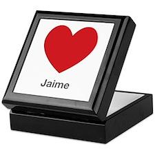 Jaime Big Heart Keepsake Box