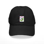 Pink Magnolia Black Cap