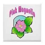 Pink Magnolia Tile Coaster
