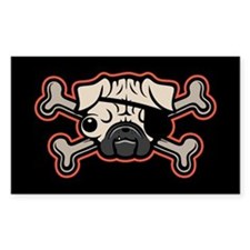 Pirate Pug 21213 Decal