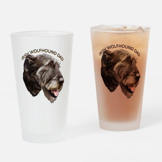 irish wolfhound Drinking Glass