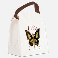Vintage Life Flapper Butterfly 1922 Canvas Lunch B