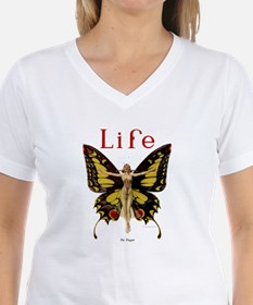 Vintage Life Flapper Butterfly 1922 T-Shirt