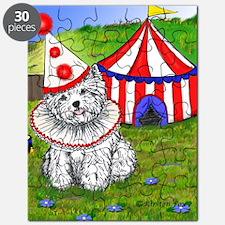 Circus Westie Puzzle