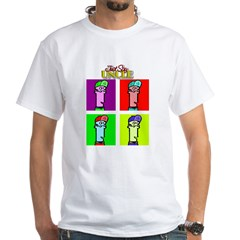 Just Say Uncle White T-Shirt