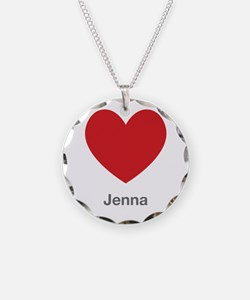 Jenna Big Heart Necklace