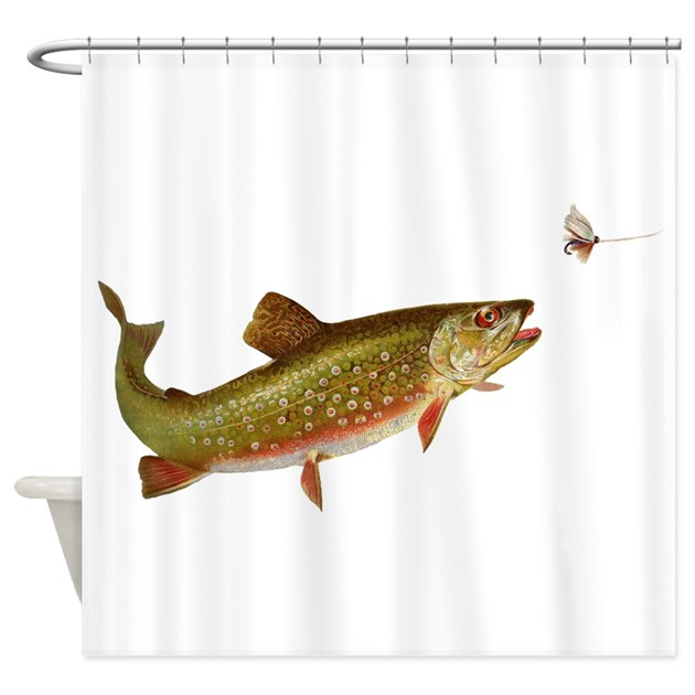Fishing Shower Curtains | Fishing Fabric Shower Curtain Liner