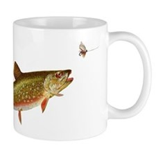 Vintage trout fishing illustration Mug