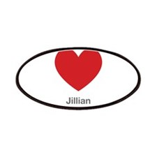Jillian Big Heart Patches