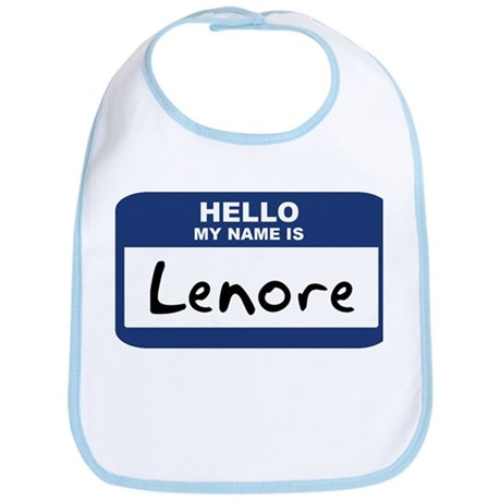 Hello: Lenore Bib