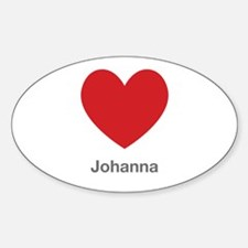 Johanna Big Heart Decal