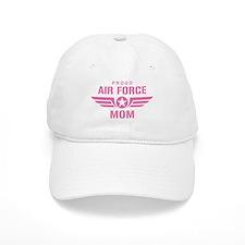 Proud Air Force Mom W [pink] Baseball Baseball Cap