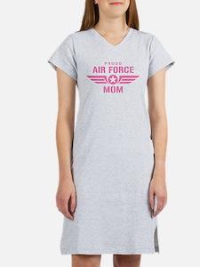 Proud Air Force Mom W [pink] Women's Nightshirt