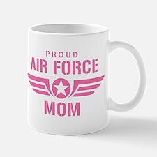 Proud Air Force Mom W [pink] Mug