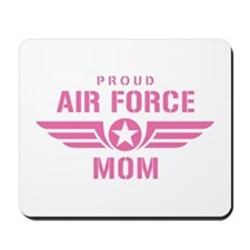 Proud Air Force Mom W [pink] Mousepad