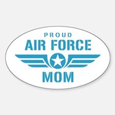 Proud Air Force Mom W Decal
