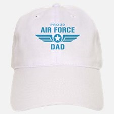 Proud Air Force Dad W Baseball Baseball Cap